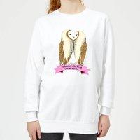 Without You I'd Be Owl By Myself Women's Sweatshirt - White - XXL - White