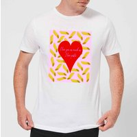 I Love You As Much As I Love Pasta Men's T-Shirt - White - 4XL - White