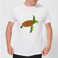 Turtle Men's T-Shirt - White - 5XL - White