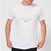 You Are An Absolute Bev Men's T-Shirt - White - XL - White