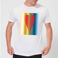 Art Heart Men's T-Shirt - White - XS - White