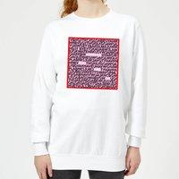 I Suppose You Are Ok Word Search Women's Sweatshirt - White - M - White
