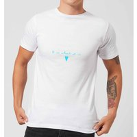 It Is What It Is Men's T-Shirt - White - 5XL - White