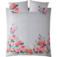 Sara Miller Peony Petals Duvet Set - Pink - Single