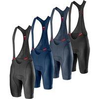 Castelli Competizione Bib Shorts - L - Savile Blue