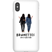 Brunettes Do It Better Phone Case for iPhone and Android - iPhone 6S - Snap Case - Matte