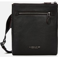 Coach Mens Metropolitan Soft Small Messenger Bag - Black