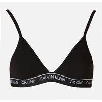 Calvin Klein Women's Unlined Triangle Bra - Black - L