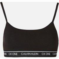 Calvin Klein Women's Unlined Bralette - Black - L