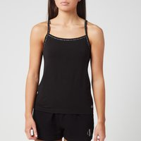 Calvin Klein Womens 2 Pack Camisole Top - Black - L
