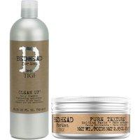 TIGI Bed Head for Men Men's Shampoo and Hair Wax Set