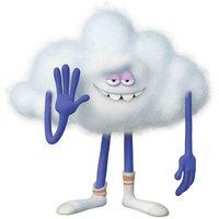 Trolls World Tour Cloud Guy Mini Sized Cardboard Cut Out