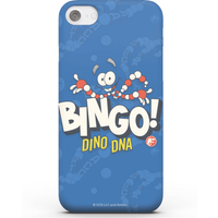 Jurassic Park Bingo Dino DNA Phone Case for iPhone and Android - iPhone 8 Plus - Snap Case - Gloss