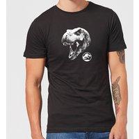 Jurassic Park T Rex Men's T-Shirt - Black - XS - Black