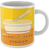 Poet and Painter Middle Aged Spread Mug - Mug Gifts
