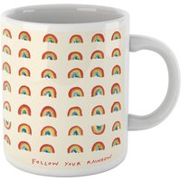 Poet and Painter Follow Your Rainbow Mug - Mug Gifts