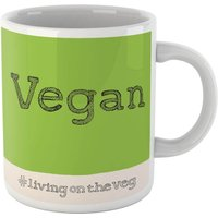 Poet and Painter Vegan Living On The Veg Mug - Mug Gifts