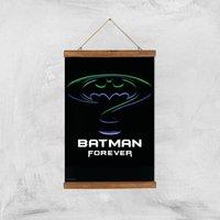 Batman Forever Giclee Art Print - A3 - Wooden Hanger