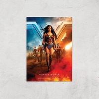 DC Wonder Woman Giclee Art Print - A3 - Print Only