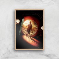 The Hobbit: An Unexpected Journey Giclee Art Print - A3 - Wooden Frame