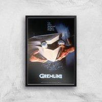 Gremlins Giclee Art Print - A2 - Black Frame