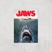 Jaws Giclee Art Print - A2 - Print Only