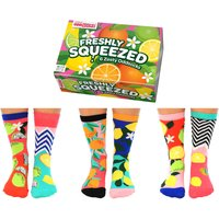 United Oddsocks Women's Freshly Squeezed Socks Gift Set - Clothes Gifts