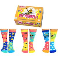 United Oddsocks Women's Bee Yourself Socks Gift Set - Clothes Gifts