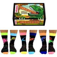 United Oddsocks Men's Dinosocks Socks Gift Set - Clothes Gifts