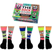 United Oddsocks Men's Out Of Office Socks Gift Set - Clothes Gifts