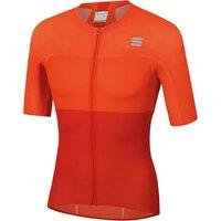 Sportful BodyFit Pro Light Jersey - L - Fire Red/Orange SDR