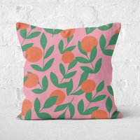 Floral Plant Square Cushion - 40x40cm - Soft Touch - Floral Gifts