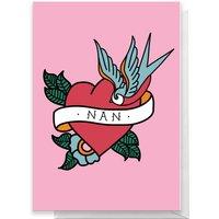 NAN TATTOO Greetings Card - Giant Card - Nan Gifts