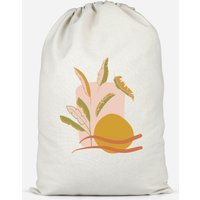 Abstract Holiday Art Cotton Storage Bag - Large - Holiday Gifts