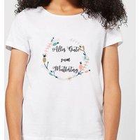 Alles Gut Zum Muttertag Women's T-Shirt - White - 4XL - White