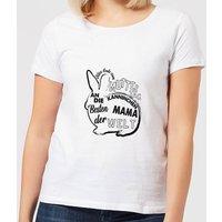 Alles Gute Zum Muttertag An Die Besten Kanninchen Mama Der Welt Women's T-Shirt - White - M - White