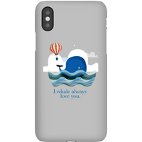 I Whale Always Love You Phone Case for iPhone and Android - iPhone 5C - Snap Case - Matte
