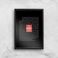I'll Guide You Giclee Art Print - A2 - Black Frame