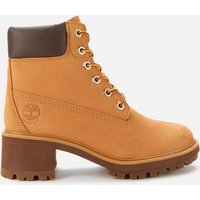 Timberland Women's Kinsley 6 Inch Waterproof Heeled Boots - Wheat - UK 5