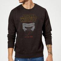 Star Wars Kylo Helmet Sweatshirt - Black - XL - Black