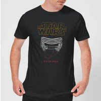 Star Wars Kylo Helmet Men's T-Shirt - Black - XS - Black