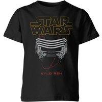Star Wars Kylo Helmet Kids' T-Shirt - Black - 7-8 Years - Black