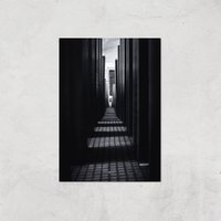 City Walk Giclee Art Print - A2 - Print Only