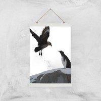 Back Off! Giclee Art Print - A3 - White Hanger