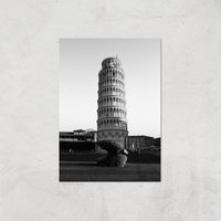 Leaning Tower Of Pisa Giclee Art Print - A2 - Print Only
