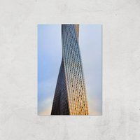 Twisted Building Giclee Art Print - A3 - Print Only
