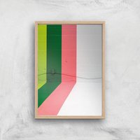 Not Mundane Giclee Art Print - A4 - Wooden Frame
