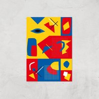 To Much Colour? Giclee Art Print - A2 - Print Only