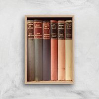 Old Book Shop Giclee Art Print - A3 - Wooden Frame - Book Gifts