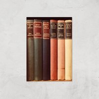 Old Book Shop Giclee Art Print - A2 - Print Only - Book Gifts
